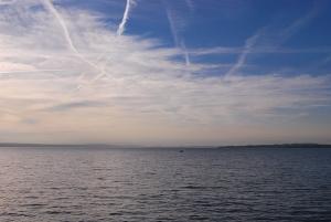 Bodensee, westwärts, abends