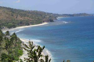 Strand im Norden Lomboks
