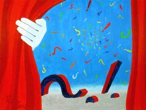P. Angele, Leben ist Überraschung, 2013